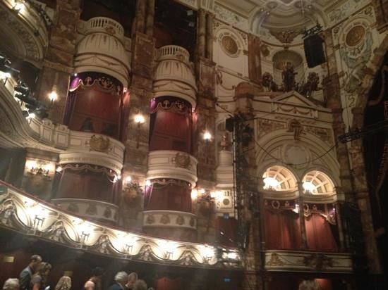 London Coliseum : gallerie