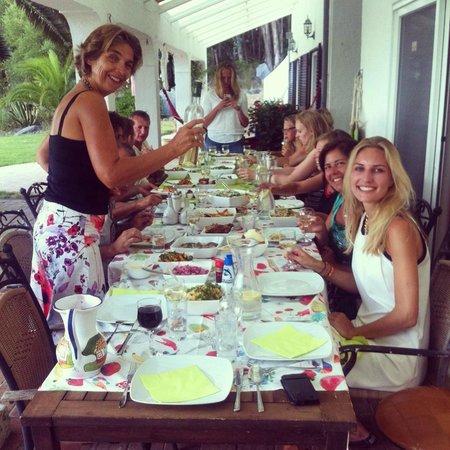 The Art of Joy: Heerlijk diner bereidt door Eugene