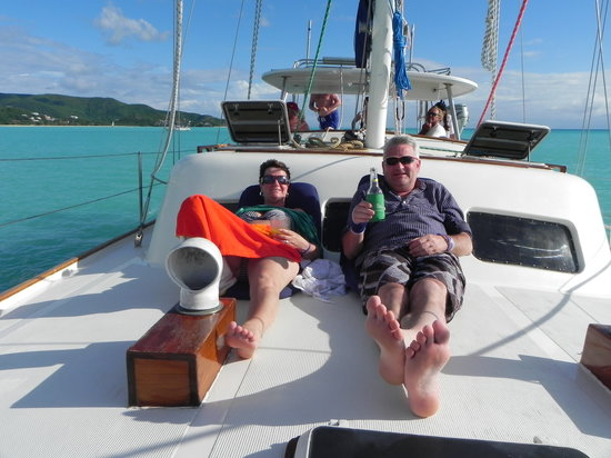 Cruise and Chill Sailing,Antigua W.I. : Danke alles gute
