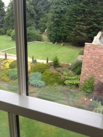Hardwick Hall Hotel: View from room 312