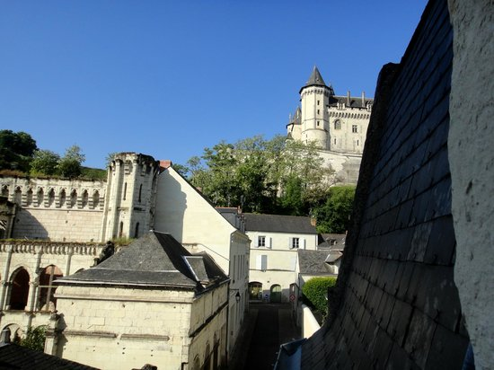 Le Patio Saumur : Vue sur chateau de Saumur