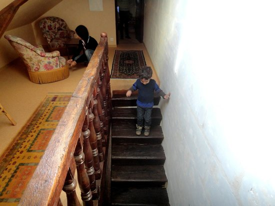 Le Patio Saumur : escalier
