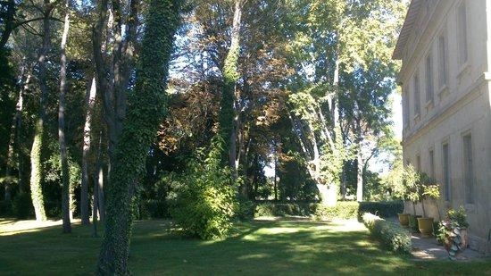 Château Sainte Colombe : Vue Parc