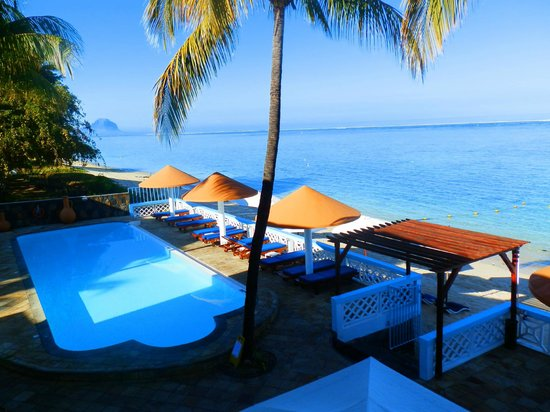 Gold Beach Resort: Vue depuis les chambres de l'étage