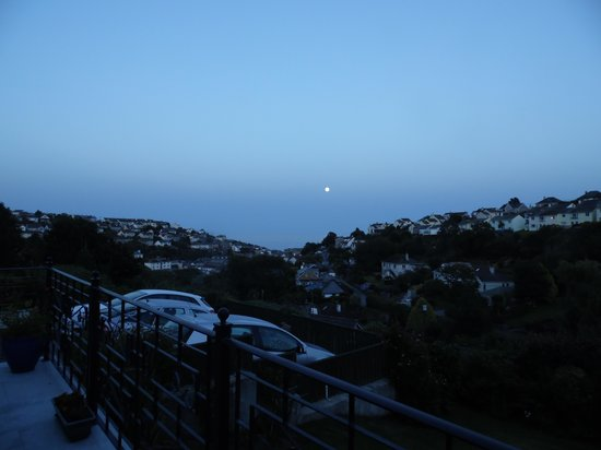 Bacchus, Rooms with a View: The moon light over Mevagissey