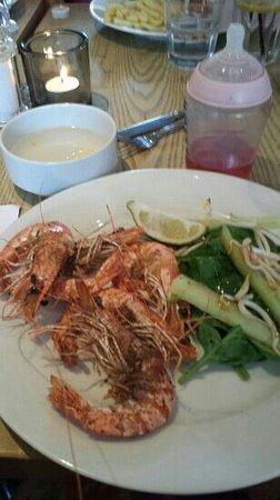 Rick Stein's Cafe: salt & pepper prawns
