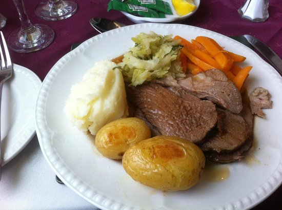 Carn Brae B&B: Excellent evening main course