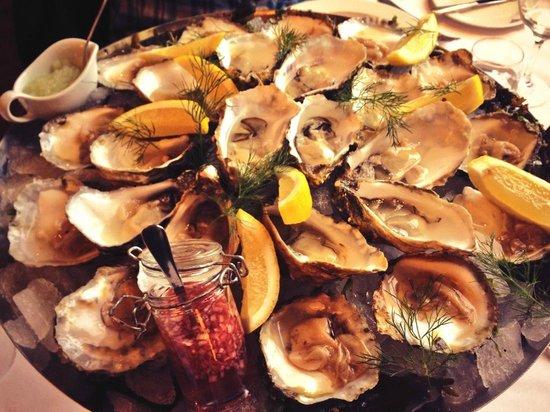 Fiskekrogen: Oysters