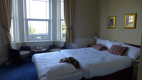 The Hermitage Hotel Bournemouth : Zimmer Nr. 110