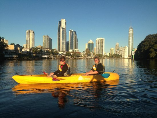 Australian Kayaking Adventures: Surfers Paradise Kayak Hire