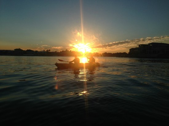 Australian Kayaking Adventures: Surfers Paradise Sunset Kayak Tour