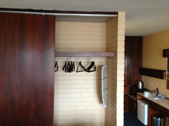"Indian Ocean Hotel: the ""wardrobe""  - look at the huge ironing board"