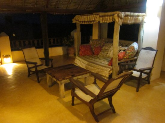 Msafini Hotel: Our private veranda