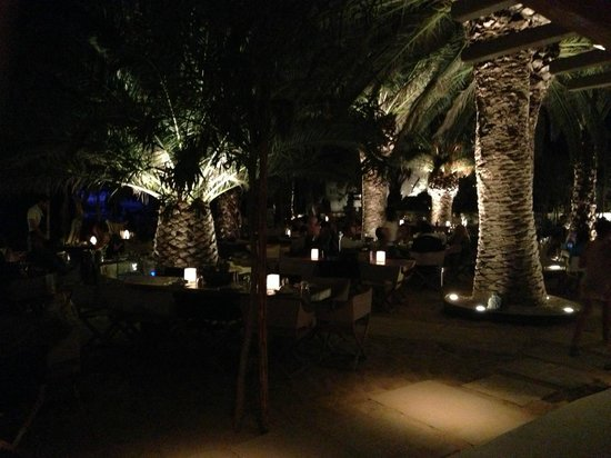Photo of Mediterranean Restaurant Namos Psarou Beach Mykonos at Psarou, Greece