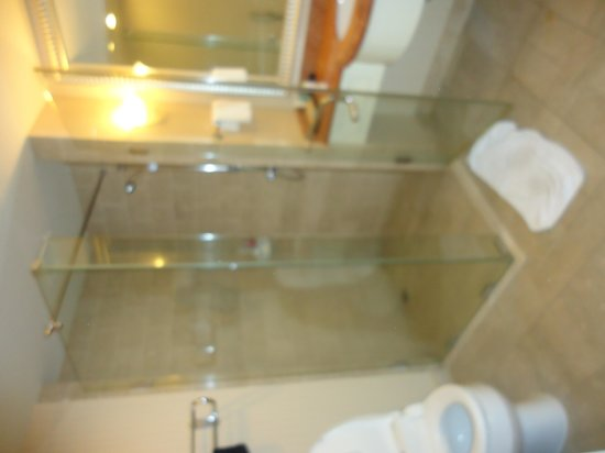 Jeju Sun Hotel & Casino: seperate shower