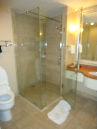 Jeju Sun Hotel & Casino: seperate shower