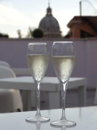 Royal Palace Luxury: le champagne de bienvenue