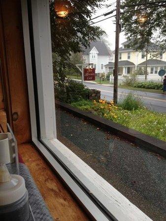 sea biscuit: front window view