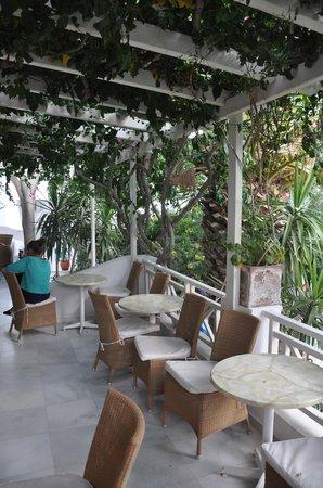 Hotel Matina : Breakfast Area