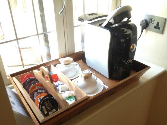 The Northey: Room 5 coffee machine