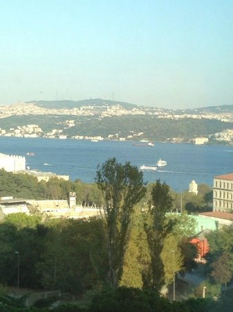 InterContinental Istanbul: 3rd floor, partial Bosphorous view
