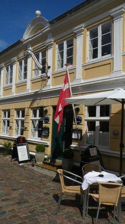 Det lille hotel, Ærøskøbing from streetview