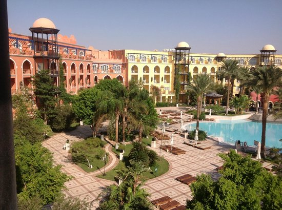 The Grand Resort Hurghada: View from our Balcony