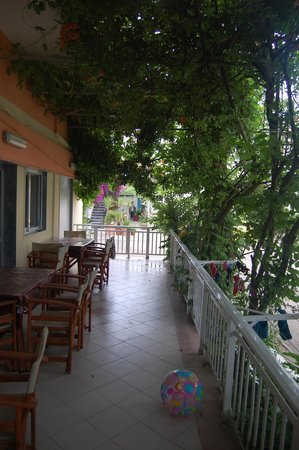 Iliadis House: terasa