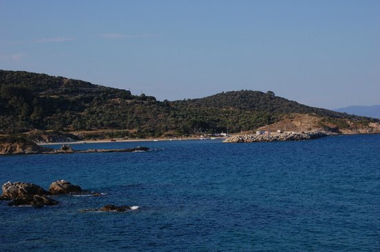 Iliadis House: Beach area