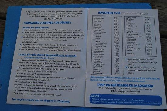 Camping L'Anse des Pins : attention la casse
