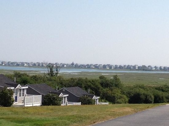 The Garrison: beautiful view of the marsh from our deck...