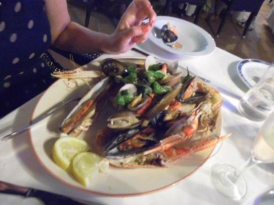 Aquarius: the fish platter was great