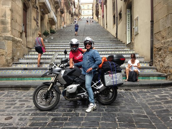 Hotel della Valle: Viaggiatori in moto