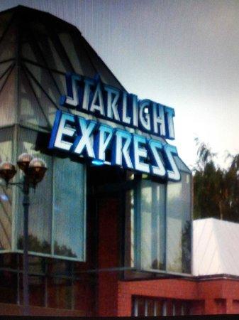 STARLIGHT EXPRESS: Eingang
