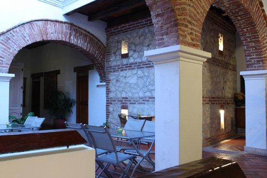 Hotel Boutique las Carretas: Breakfast spot