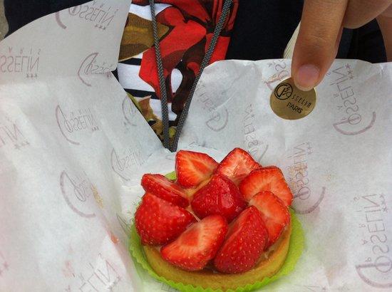 Gosselin: Tortina alle fragole