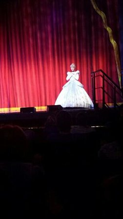 Sunderland Empire: cinderella - almost close enough to touch
