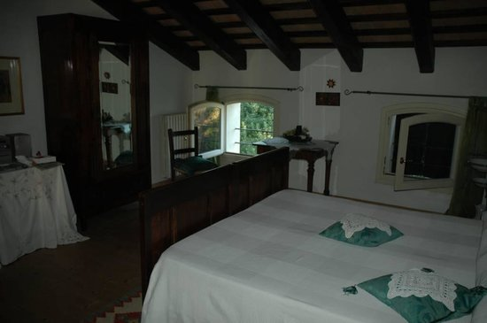 Il Rustico Bed & Breakfast : camera verde