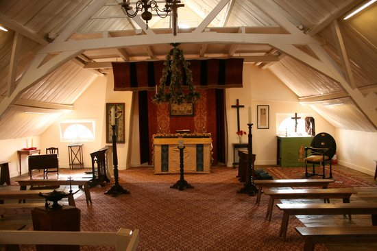 Chapel in the roof space at Talbot House
