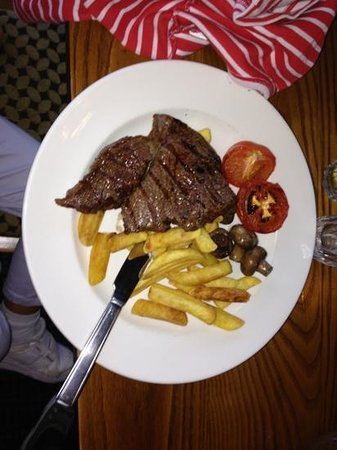 Premier Inn Edinburgh Airport (Newbridge) Hotel: bistecca ai ferri
