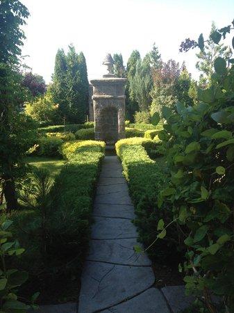 Nad Pisa: Hotel grounds