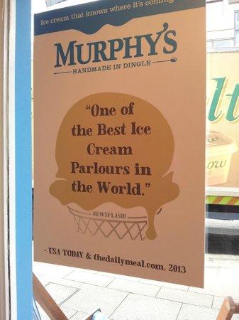 Murphys Ice Cream : Totally agree!