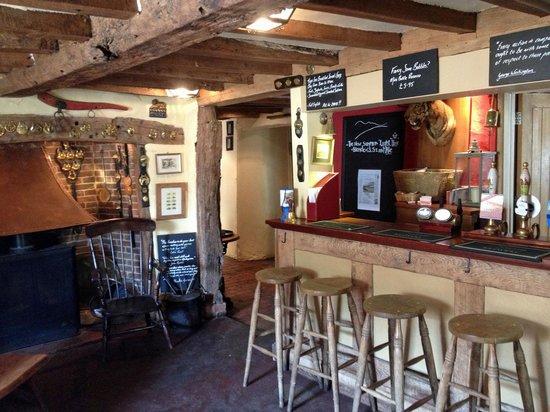 Inside the Tiger Inn
