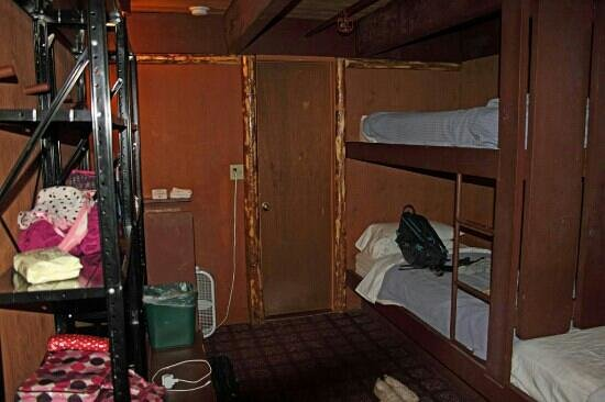 The Hostel: Dingy room