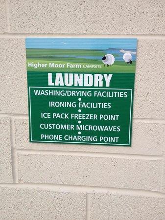Higher Moor Farm: Laundry room