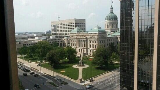 Hyatt Regency Indianapolis: View from room 922