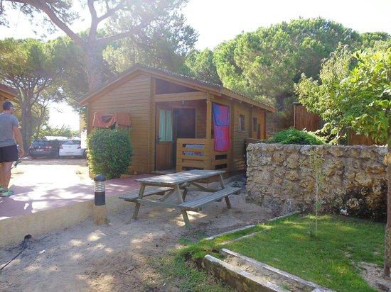 Camping Doñana Playa: cabaña a 40º