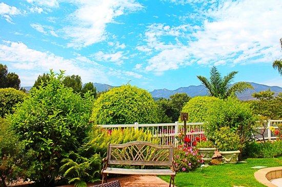 Malibu Country Inn: view from garden