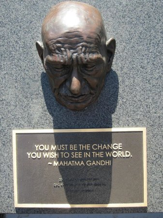 Remember Them Humanitarian Monument : Gandhi
