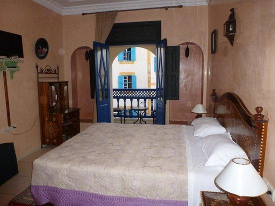 Essaouira Wind Palace: The room